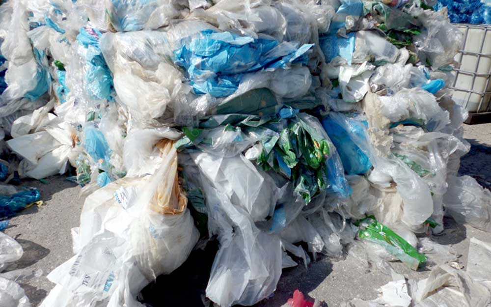 Plastic Forests Recycling Plastic Film