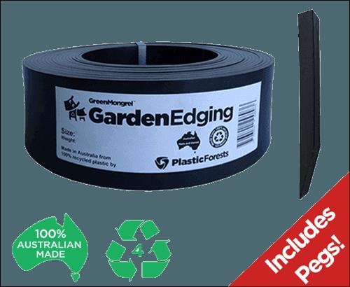 Plastic Forest Garden Edging Kits