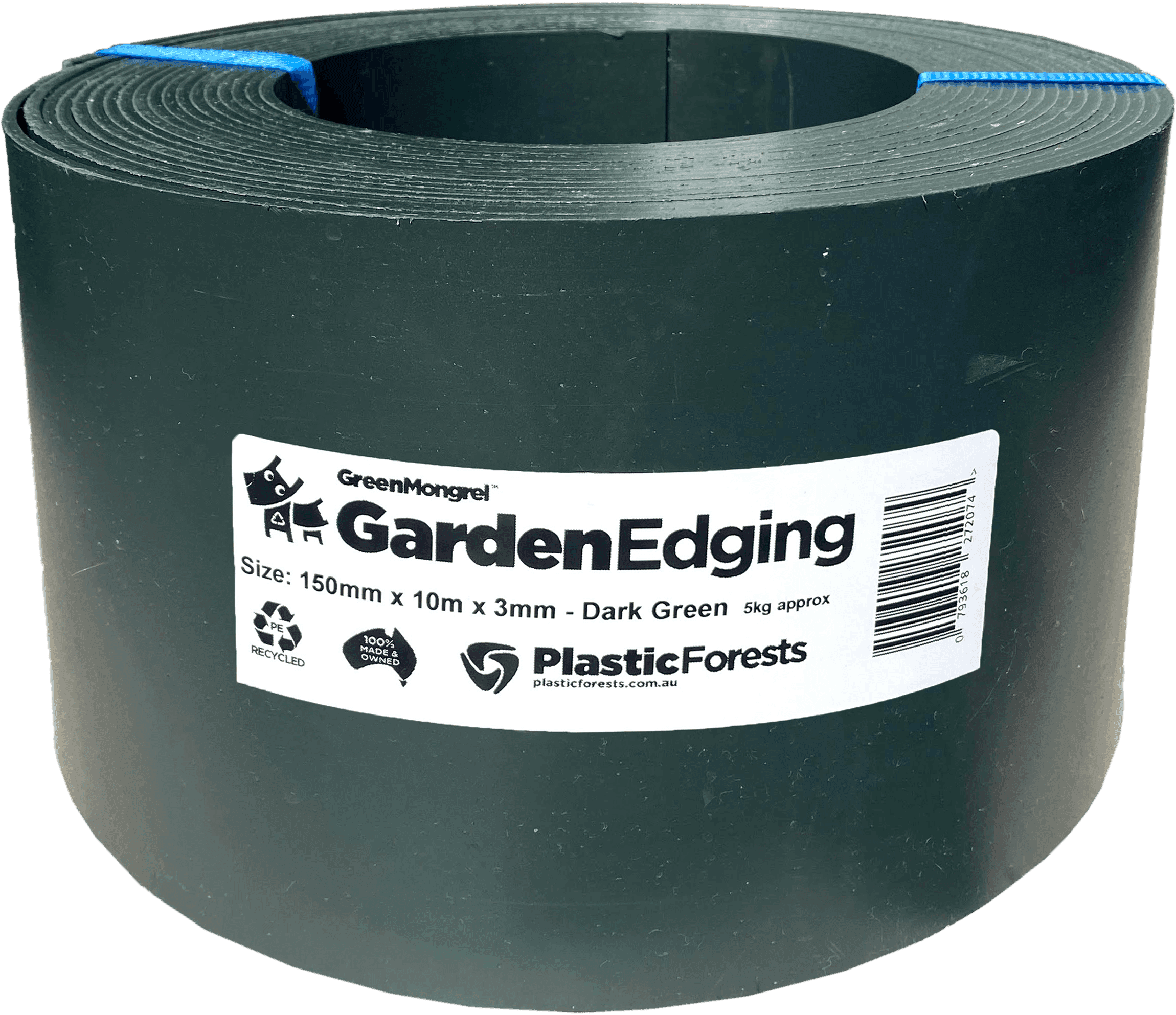 Dark Green Garden Edging