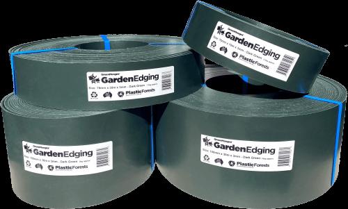 Garden Edging Dark Green 3mm
