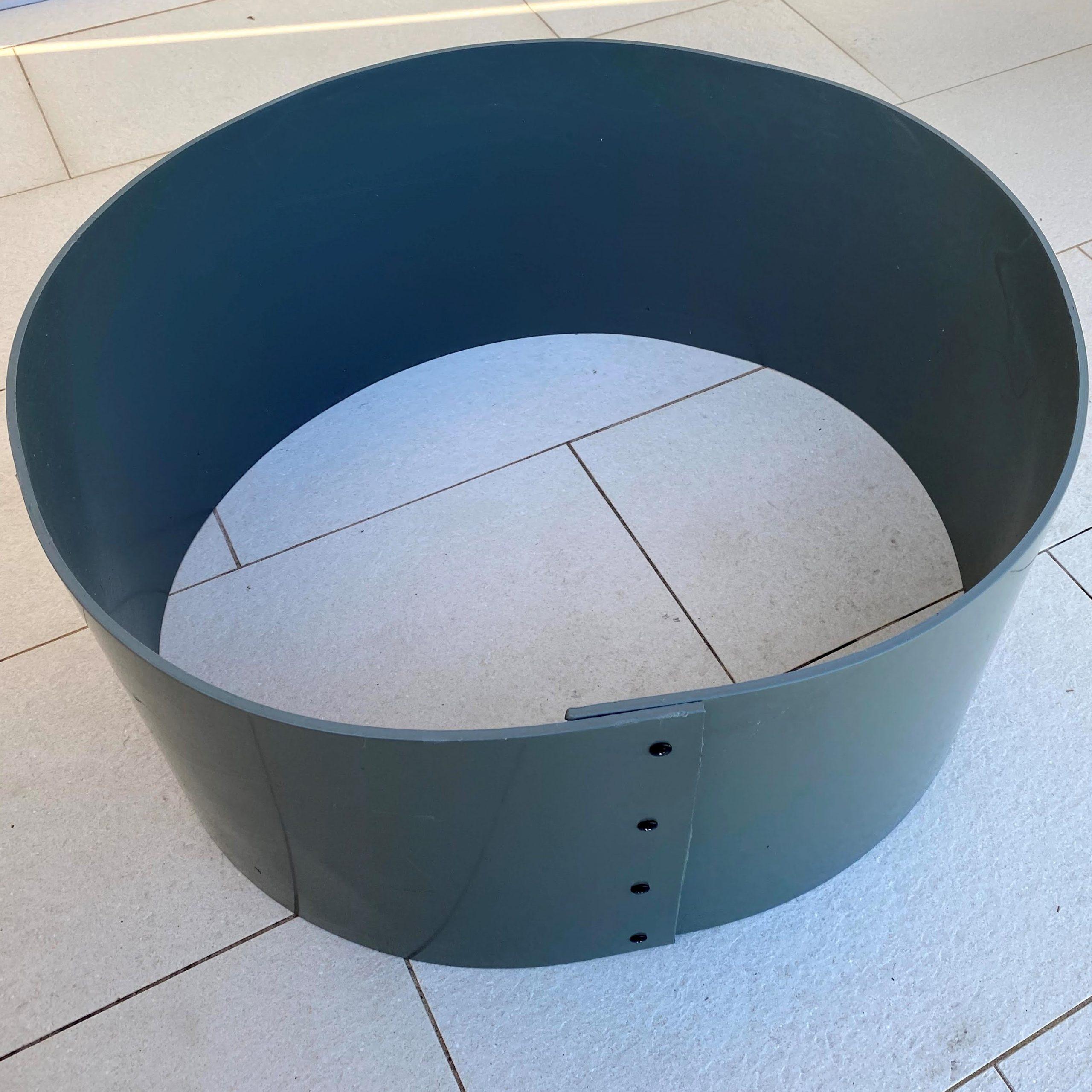 Raised Garden Bed plastic circle
